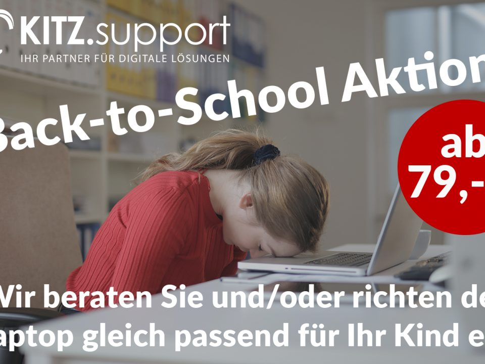 Back-to-School Aktion